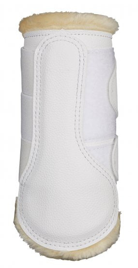 LeMieux Fleece Lined Dressage Boots - back