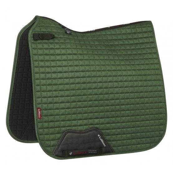 LeMieux Dressage Pad - hunter green