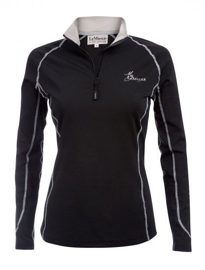 LeMieux Base Layer Shirt - Black front