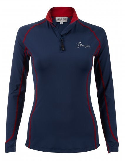 LeMieux Base Layer Shirt - Navy