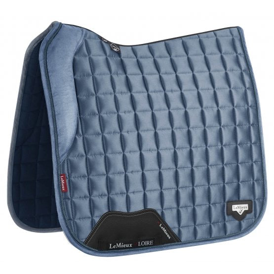 LeMieux Loire Memory Dressage Square - ice blue