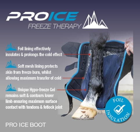 LeMieux ProIce Freeze Boot - diagram