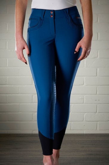 LeMieux Engage Breeches - midnight blue - front