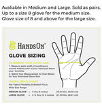 Hands On Grooming Gloves - sizing
