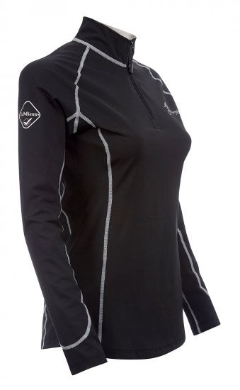 LeMieux Base Layer Shirt - black side