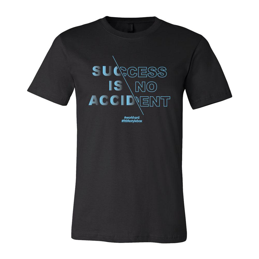 Men's Success Is No Accident Shirt - Fit Lifestyle Box