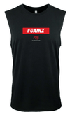 Men's Gainz Tank - Fitness Workout Shirt - Sleeveless - Fit Lifestyle Box