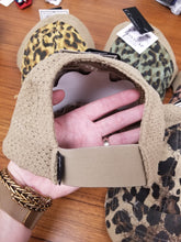 Load image into Gallery viewer, CC Leopard Distressed Ponytail Baseball Cap - Variety of Colors
