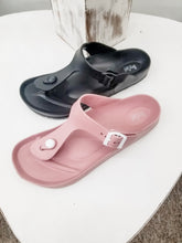 Load image into Gallery viewer, CORKYS Jet Ski Sandals - Black or Blush
