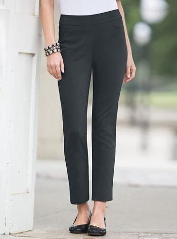Slim-Sation by Multiples Ankle Pants
