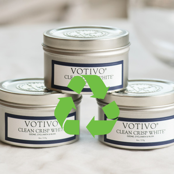 Return Your Used Votivo Travel Tin Candles