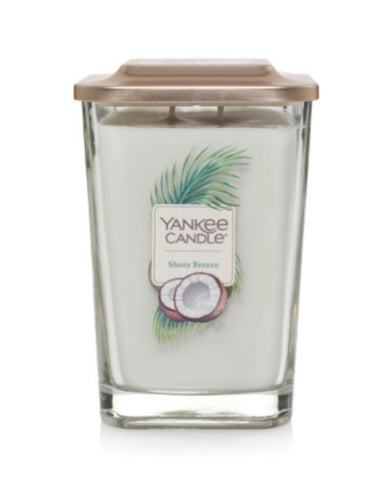 Shore Breeze Large 2-Wick Square Candle