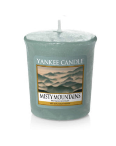 Misty Mountains Samplers Votive Candle