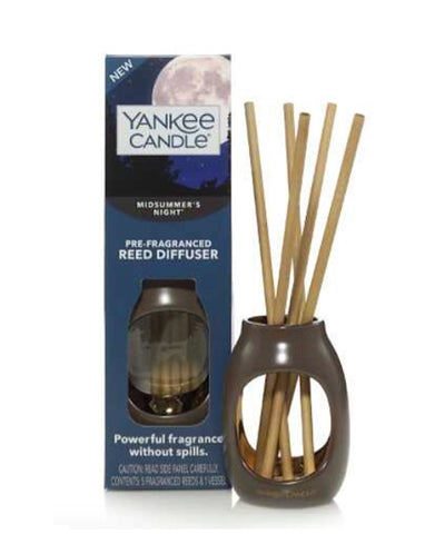 MidSummer's Night with Metallic Vase Pre-Fragranced Reed Diffusers