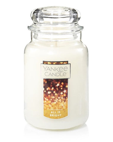 All Is Bright Large Jar Candle