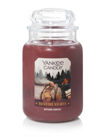 Autumn Embers Large Jar Candle