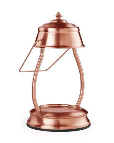 Copper Hurricane Lantern Candle Warmer