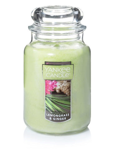 Lemongrass & Ginger Large Jar Candle