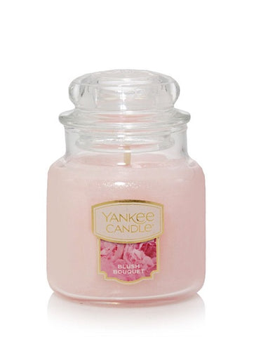 Blush Bouquet Small Jar Candle