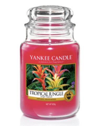 Tropical Jungle Large Jar Candle
