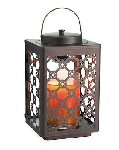 Oil Rubbed Bronze Garden Lantern Candle Warmer