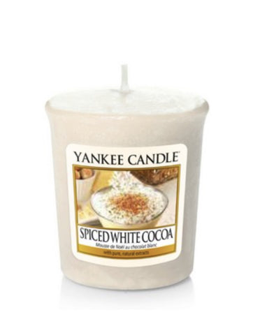 Spiced White Cocoa Samplers Votive Candle