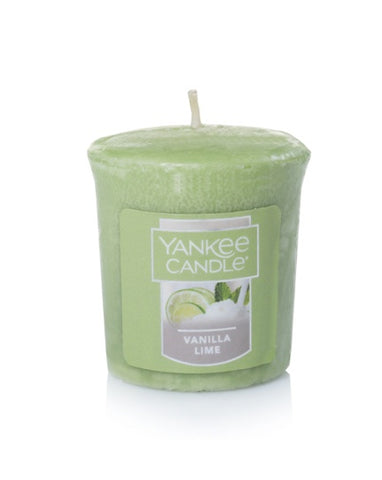 Vanilla Lime Samplers Votive Candle