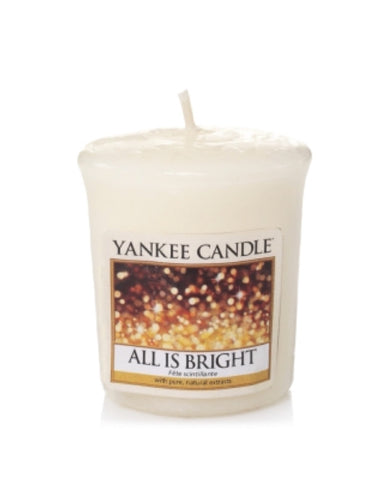 All Is Bright Samplers Votive Candle