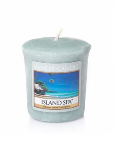 Island Spa Samplers Votive Candle
