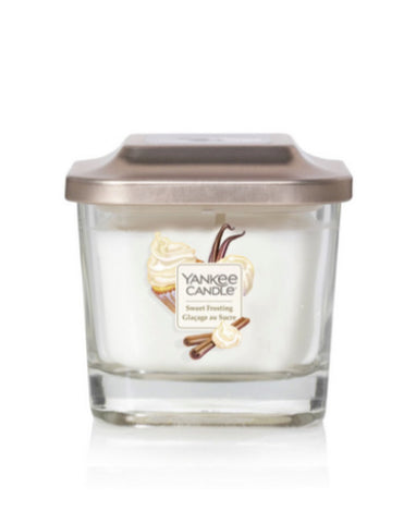 Sweet Frosting Small 1-Wick Square Candle