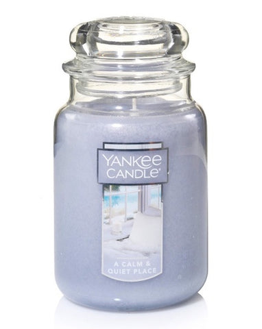 A Calm & Quiet Place Large Jar Candle