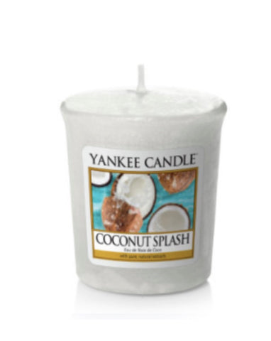 Coconut Splash Samplers Votive Candle