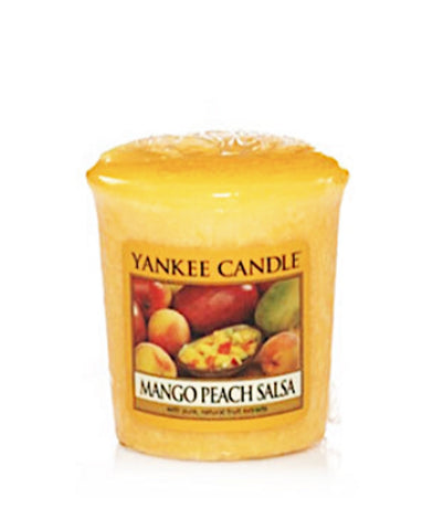 Mango Peach Salsa Samplers Votive Sampler Candle