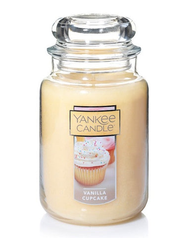 Vanilla Cupcake Large Jar Candle