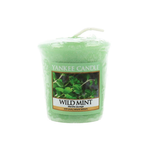 Wild Mint Samplers Votive Candle