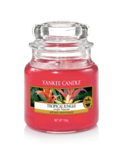 Tropical Jungle Small Jar Candle