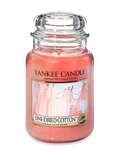 Line-Dried Cotton Large Jar Candle