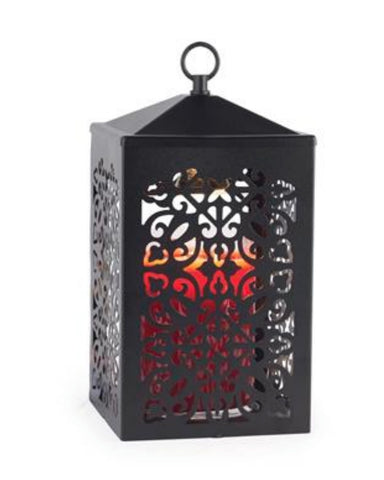 Black Scroll Candle Warmer