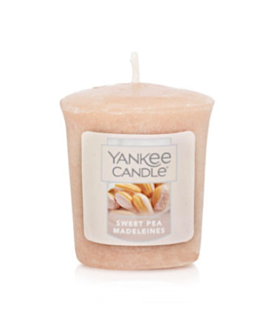 Sweet Pea Madeleines Samplers Votive Candle