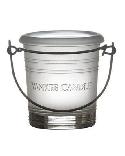 Frosted Bucket Votive Holder