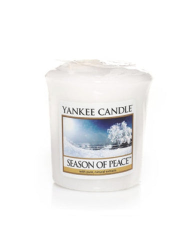 Season of Peace Samplers Votive Candle