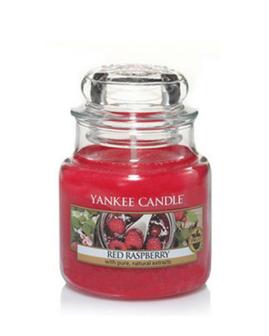 Red Raspberry Small Jar Candle