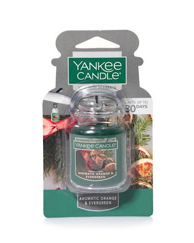 Aromatic Orange & Evergreen Car Jar Ultimate