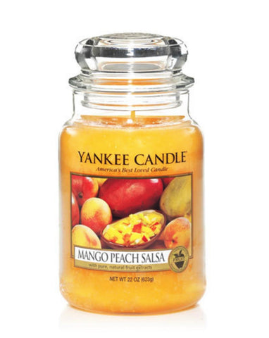 Mango Peach Salsa Large Jar Candle