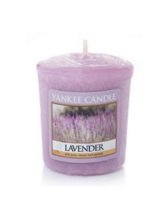Lavender Samplers Votive Sampler Candle