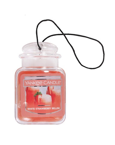 White Strawberry Bellini Car Jar Ultimate