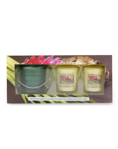 Lemongrass & Ginger Samplers Votive Gift Set