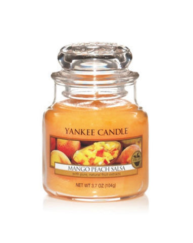 Mango Peach Salsa Small Jar Candle