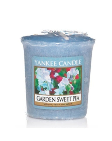 Garden Sweet Pea Samplers Votive Candle