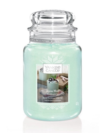 Alpine Mint Large Jar Candle